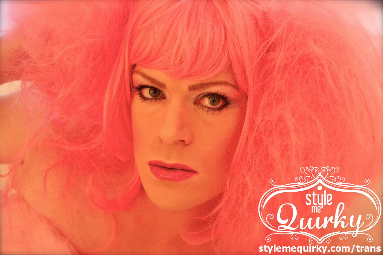Transgender Dressing Service, Makeovers and Photography - Pops 'Pink Poochie' by Style Me Quirky