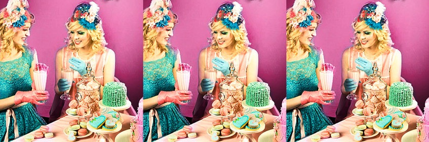 Hen Tea Party Quirky Styling Makeover Photography Style Me Quirky